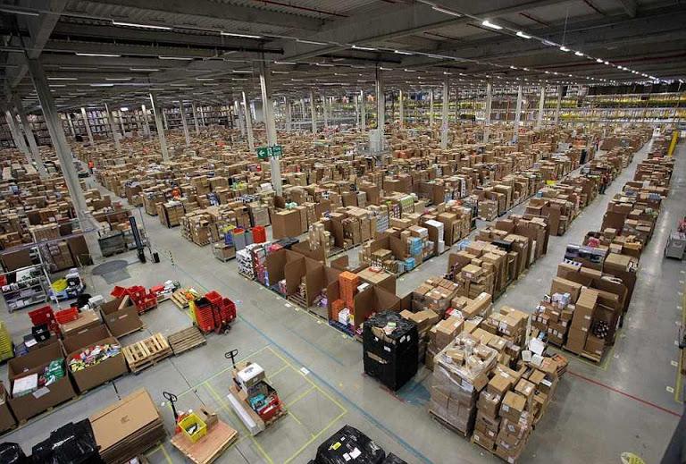 Самый большой склад в мире