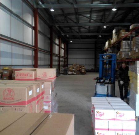 Сдается складское помещение, 450 кв.м., пос. Индустриальный, ул. Восточная | Фото 1